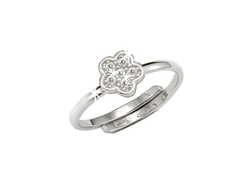 SCOUT Ring mit Cubic Zirkonia
