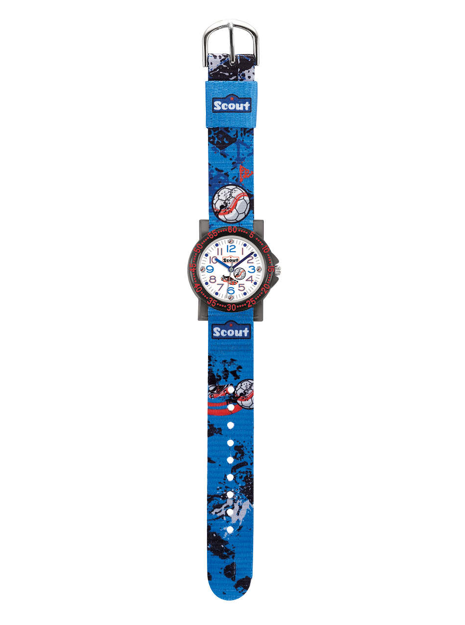SCOUT Armbanduhr blau, orange