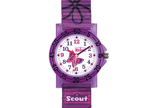 SCOUT Armbaduhr lila